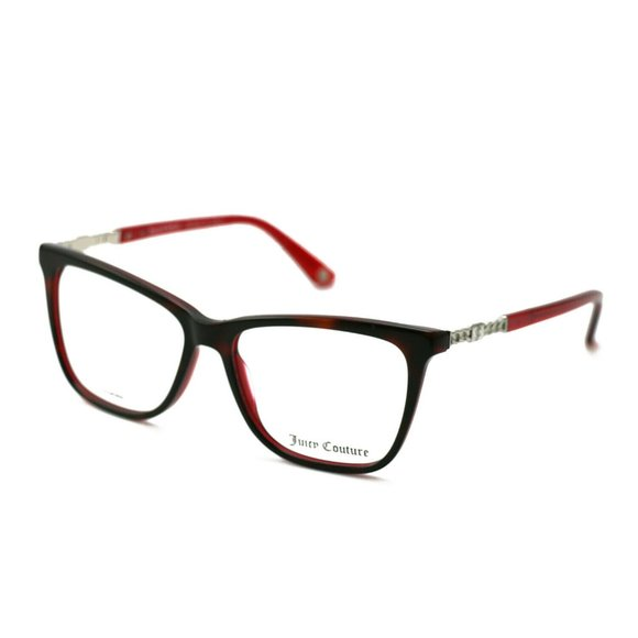 Juicy Couture Accessories - Juicy Couture Cat-Eye Style Havana/Burgundy Frame